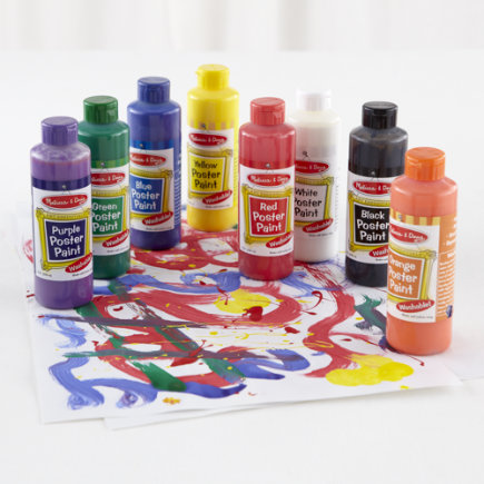 Kids Arts and CraftsKids Paint Supplies KitRed Poster Paint