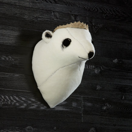 Girl Polar Bear Decor 2