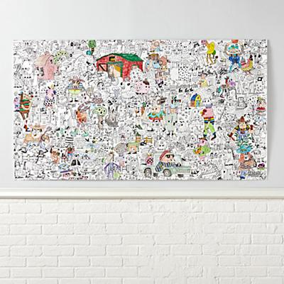 Arts_Crafts_Giant_Coloring_Poster_Funny_Farm_v2