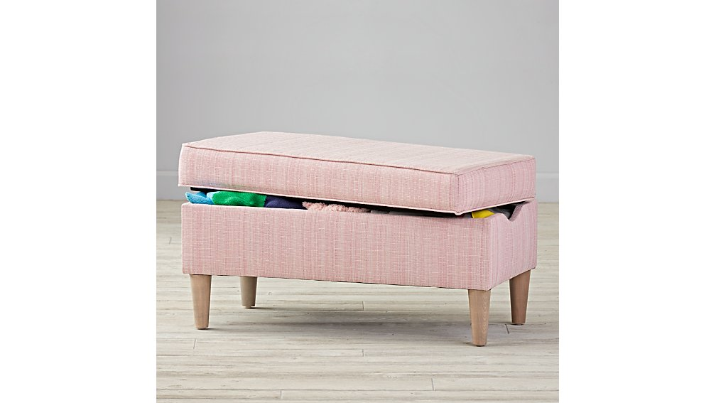 Upholstered Storage Bench (Piper Rosie)