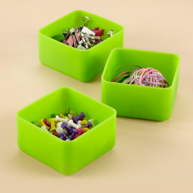 Bendy Drawers (Green, Set of 3)