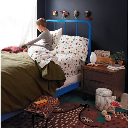 Cotton Canvas Expeditionary Duvet Cover - Twin Expeditionary Duvet Cover