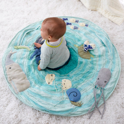 Marine Themed Baby Activity Mat - Be on the Sea Activity Floor Mat