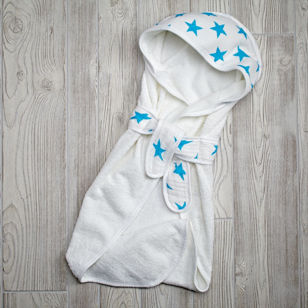 Star Bath Wrap (Blue)