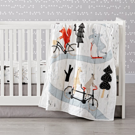 - Forest Friends Baby Quilt