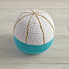 Blue Eye Catching Knit Ball