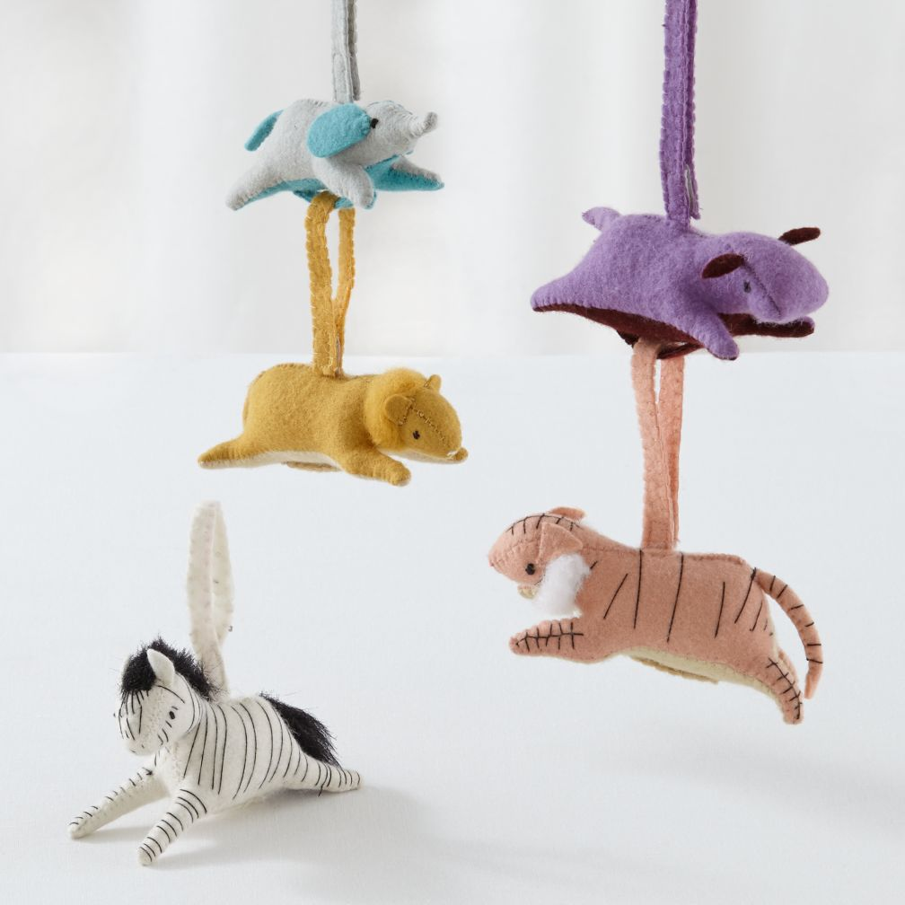 Set of 5 Animal Playtime Anytime Rattles