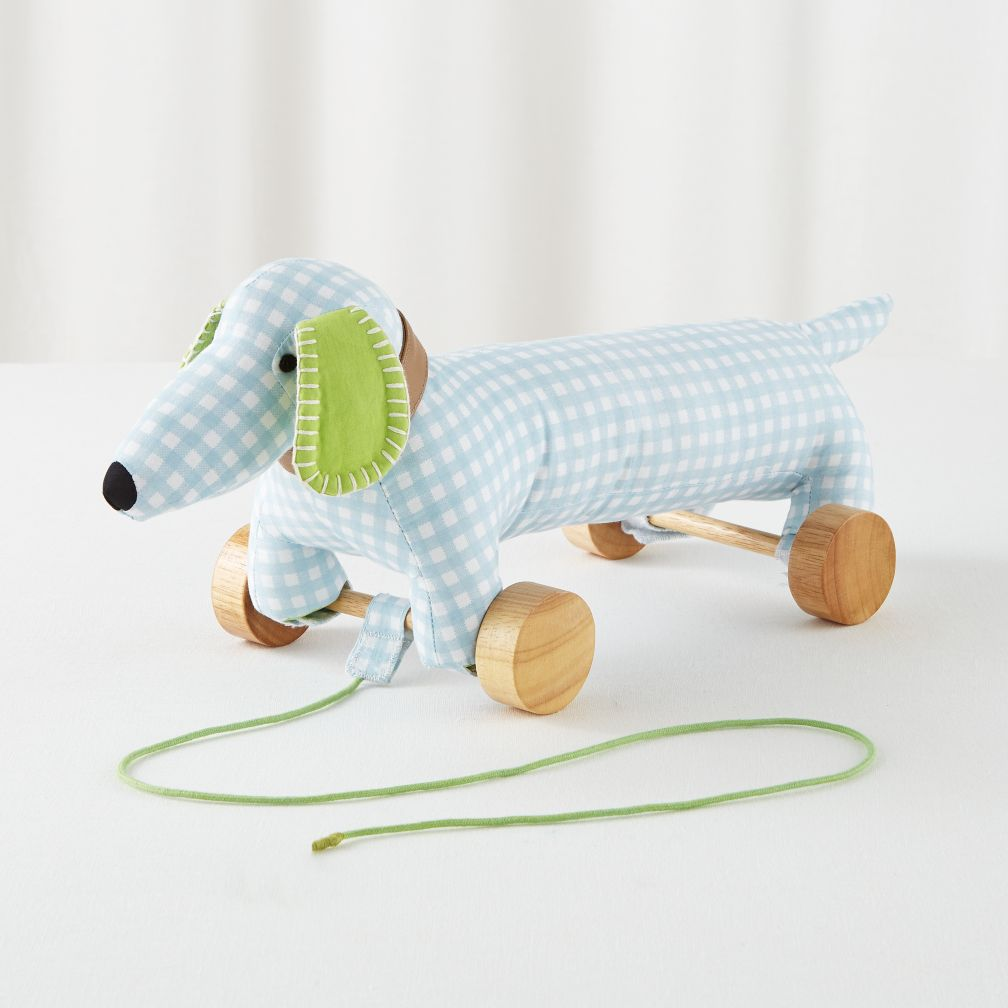 Patterned Pet Pull Toy (Dog)