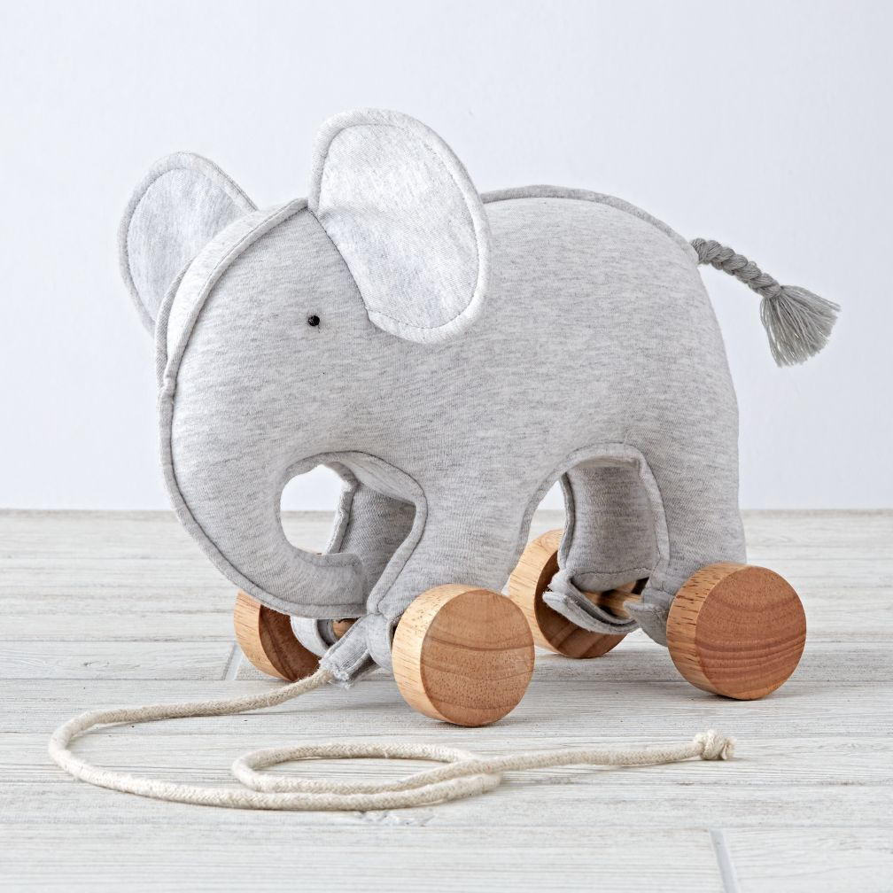 Zoo Crew Elephant Pull Toy The Land Of Nod