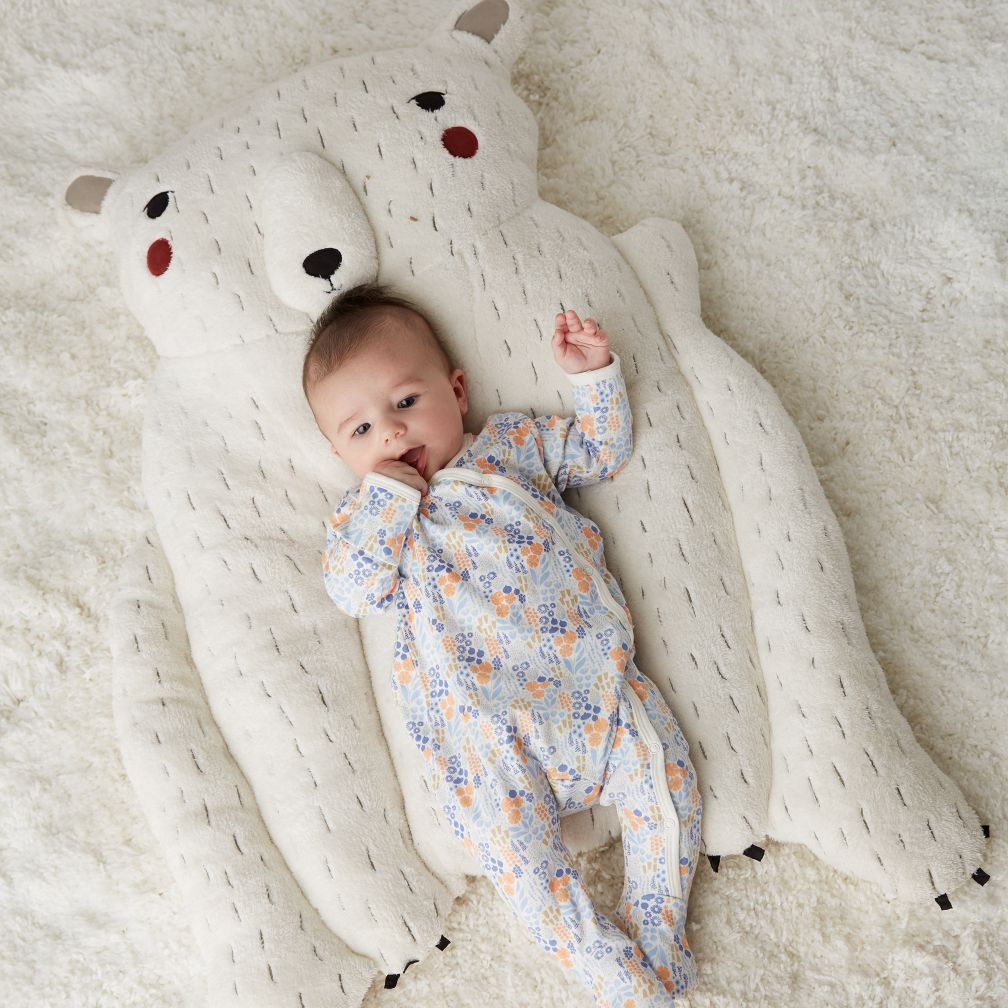Polar Bear Baby Play Mat The Land Of Nod