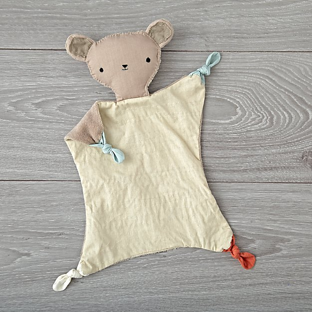 Bear Baby Lovey By Kata Golda