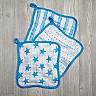 Blue Star Wash Up Washcloths Set of 3