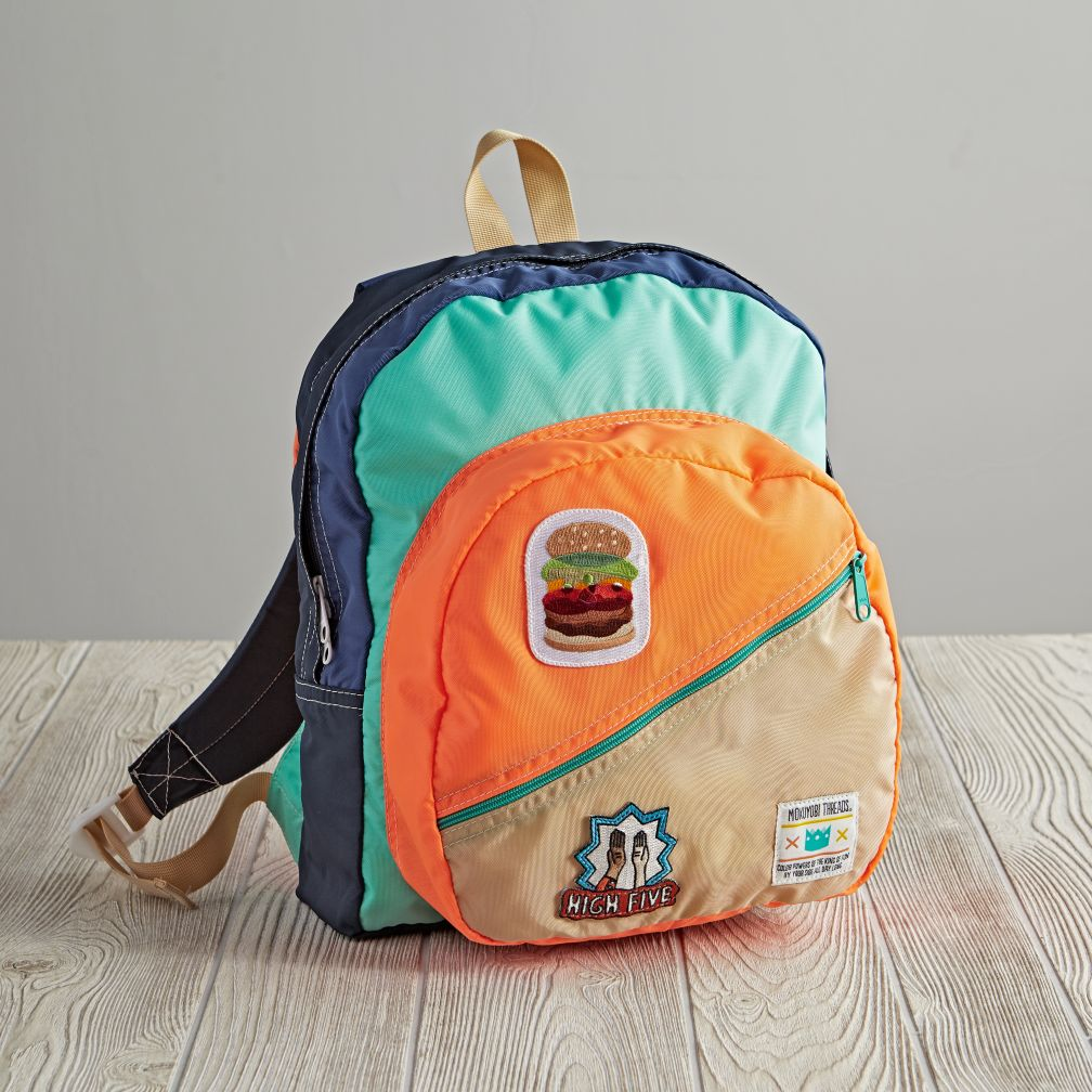 Mokuyobi Threads Backpack (Orange)