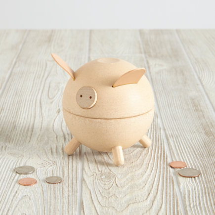 Piggy Bank (Natural) - Natural Piggy Bank