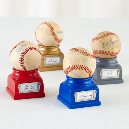 Kids Storage: Colorful Baseball Holder - Red Lucky Baseball Holder