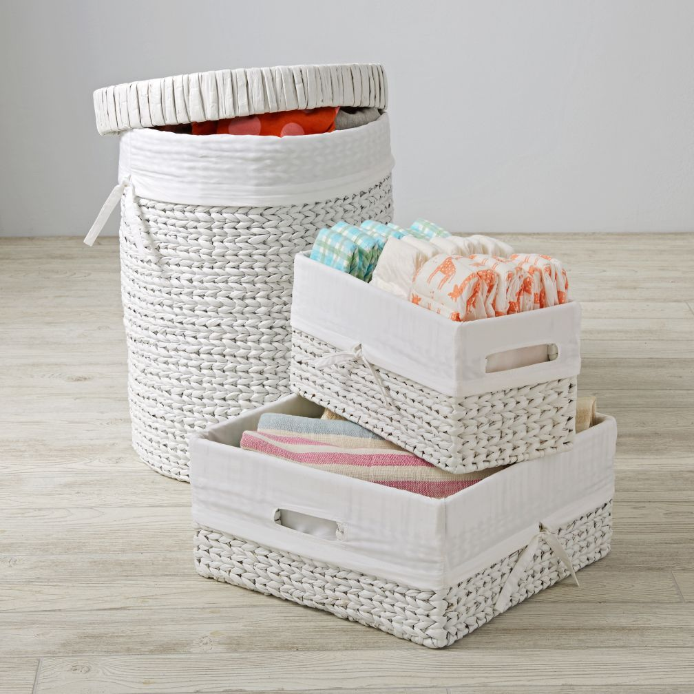Wonderful Wicker White Nursery Collection