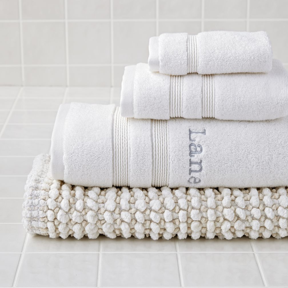 Fresh Start Bath Towels (White)