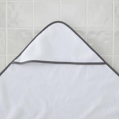 Fresh Start Hooded Towel (Grey)