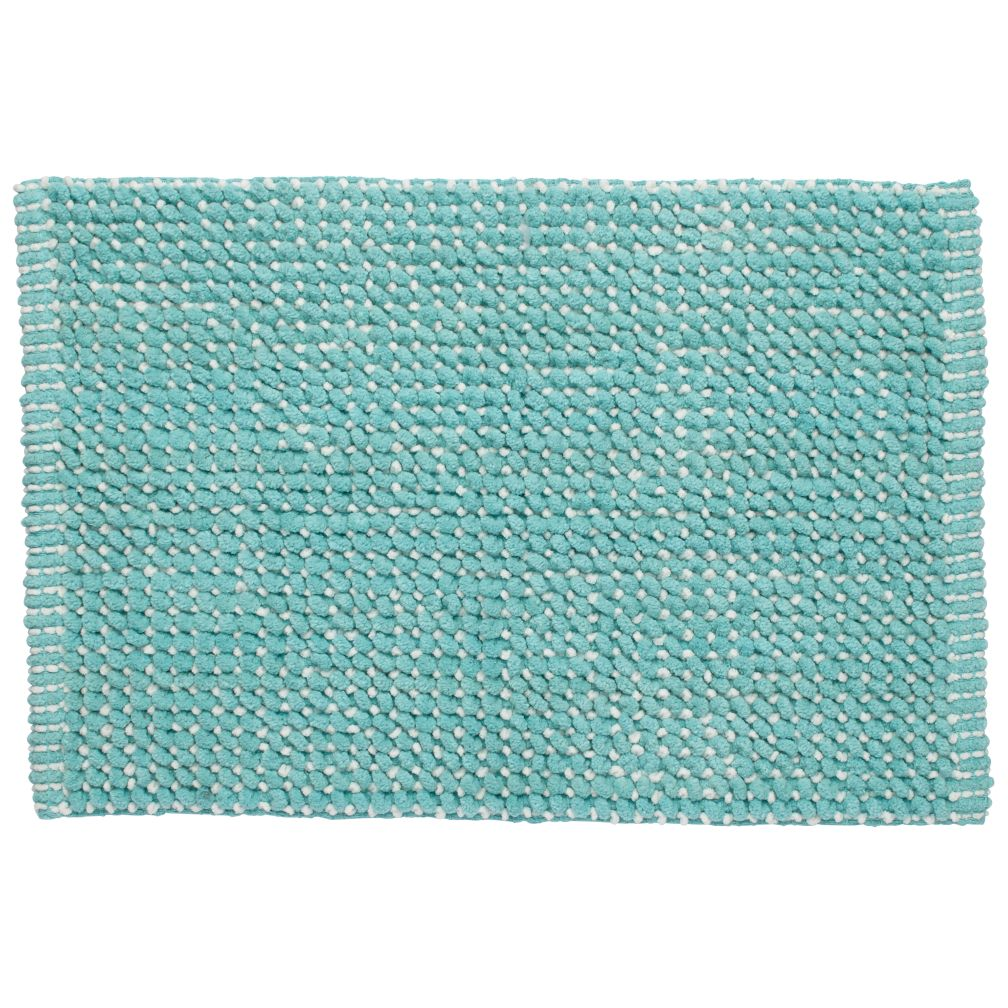 Fresh Start Bath Mat (Aqua)