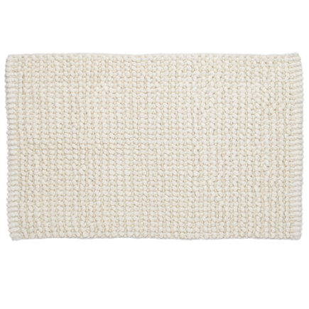 White Fresh Start Bath Mat