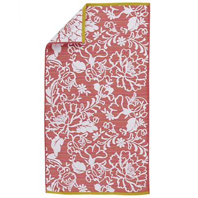 Raised Floral Bath Towel