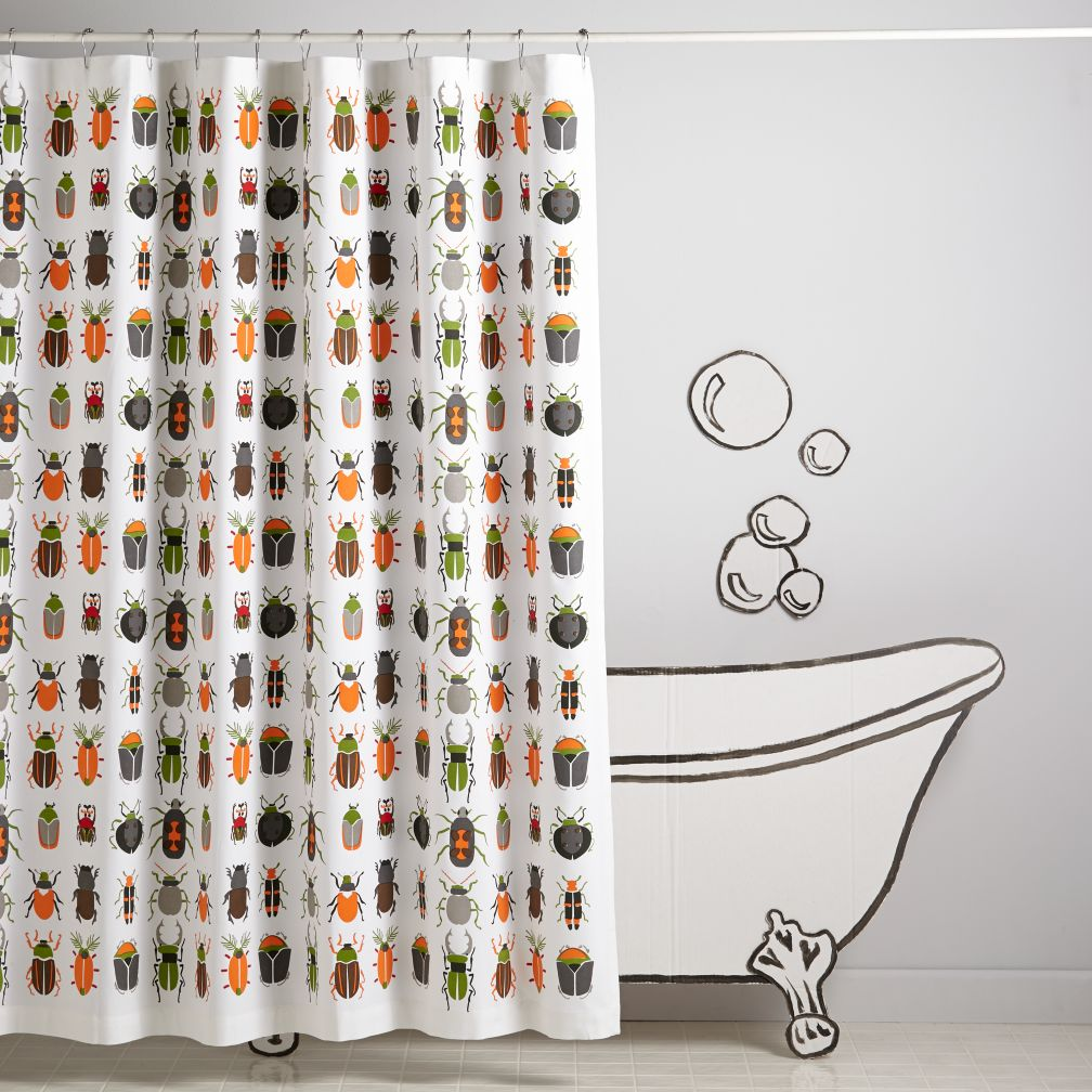 Best Bugs Shower Curtain