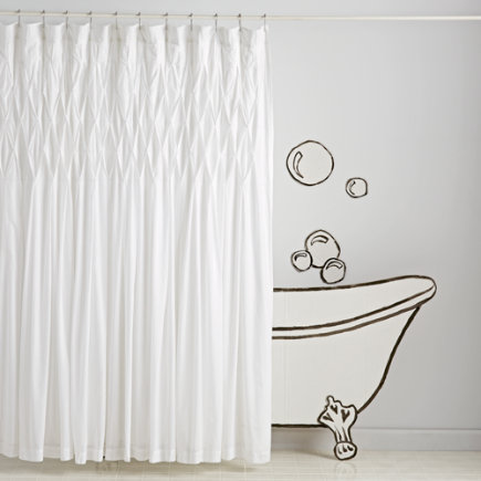 Modern Chic Shower Curtain