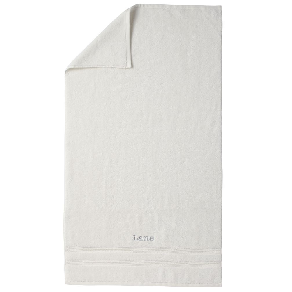 Personalized Fresh Start Bath Towel (White)