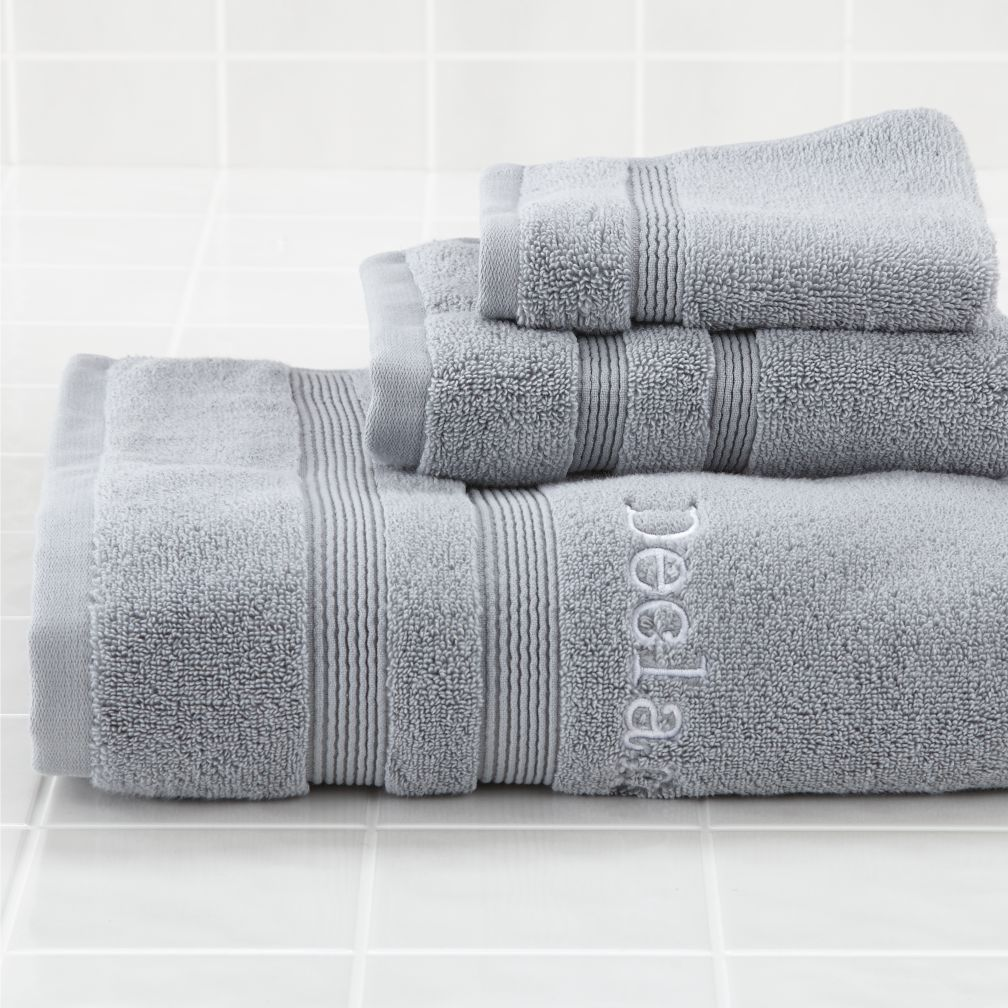 Fresh Start Bath Towels (Grey)