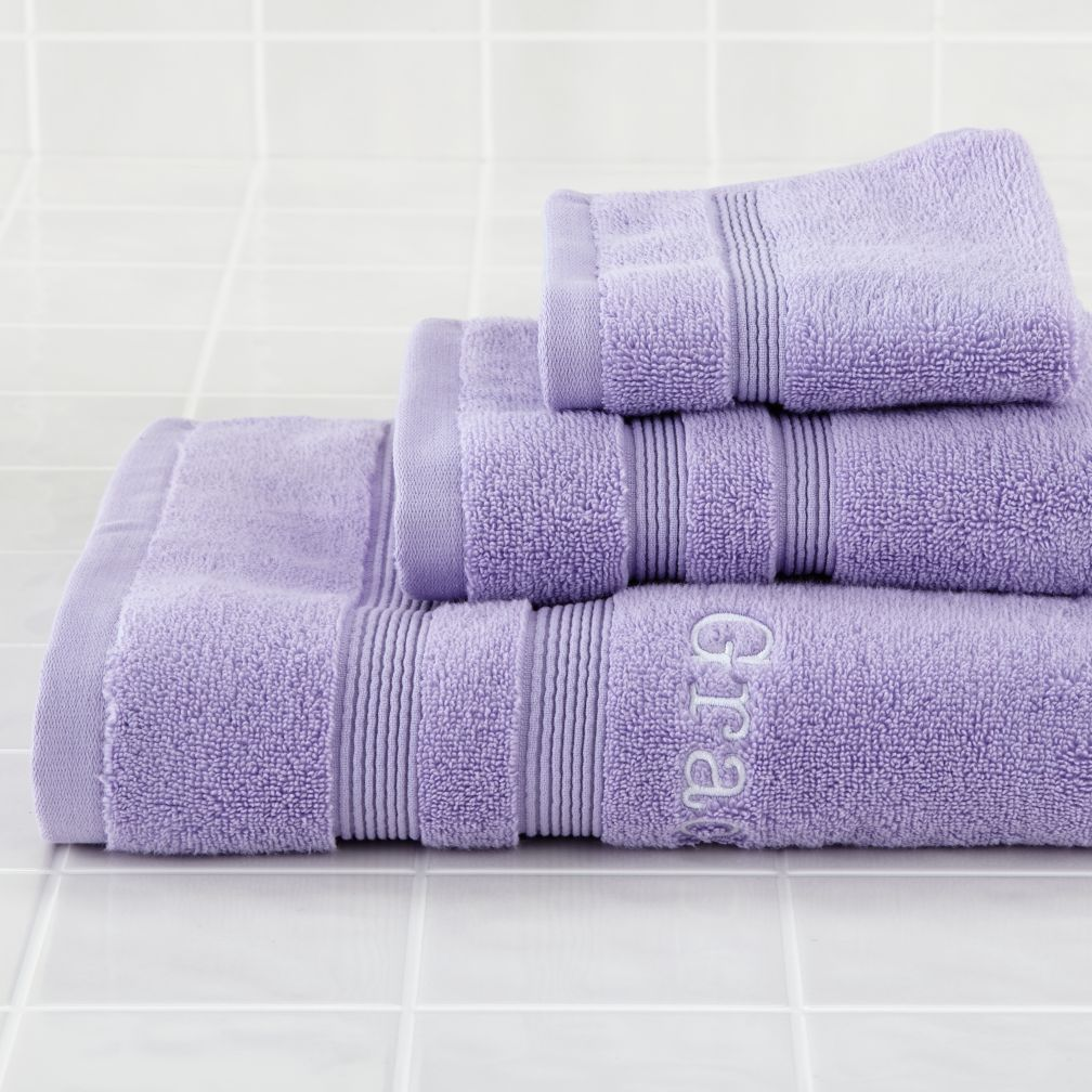 Fresh Start Bath Towels (Lavender)
