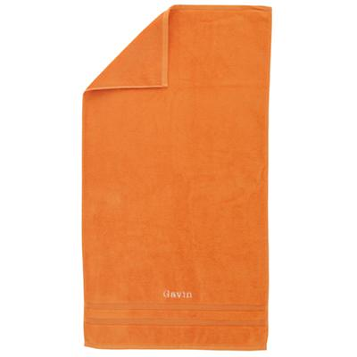 Personalized Fresh Start Bath Towel (Orange)