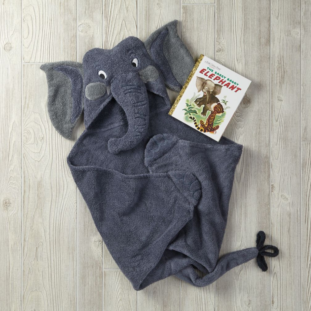 Saggy Baggy Elephant Hooded Towel Bath Set