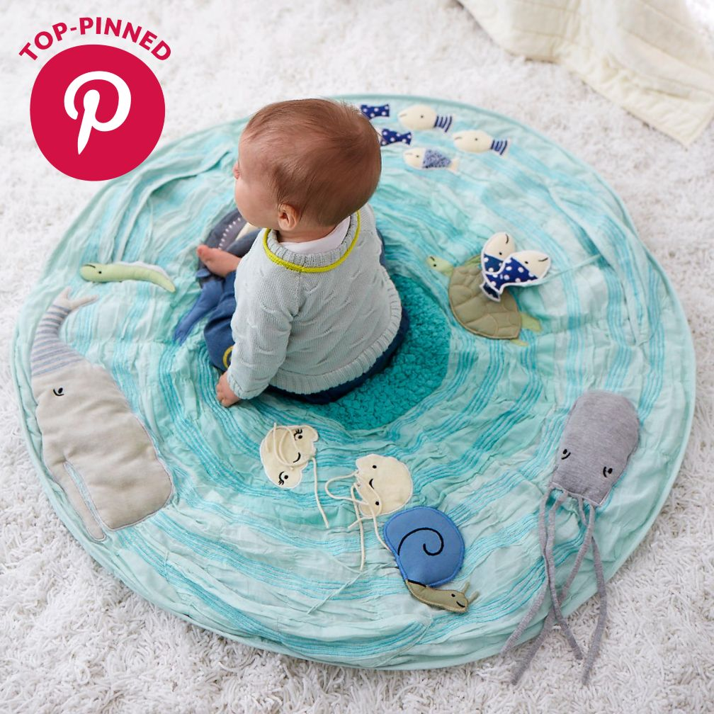 Be on the Sea Activity Floor Mat