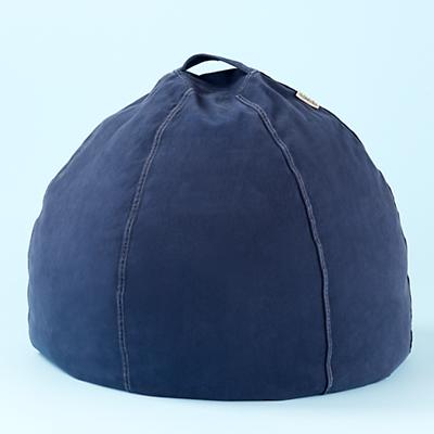 Blue Beanbag Chair includes Cover and Insert