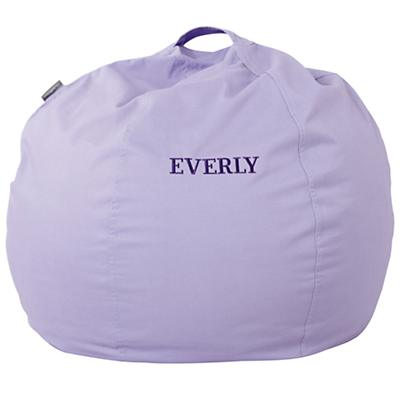 "30"" Personalized Bean Bag (New Lavender)"