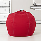"30"" Red Bean Bag Chair(includes Cover and Insert)"