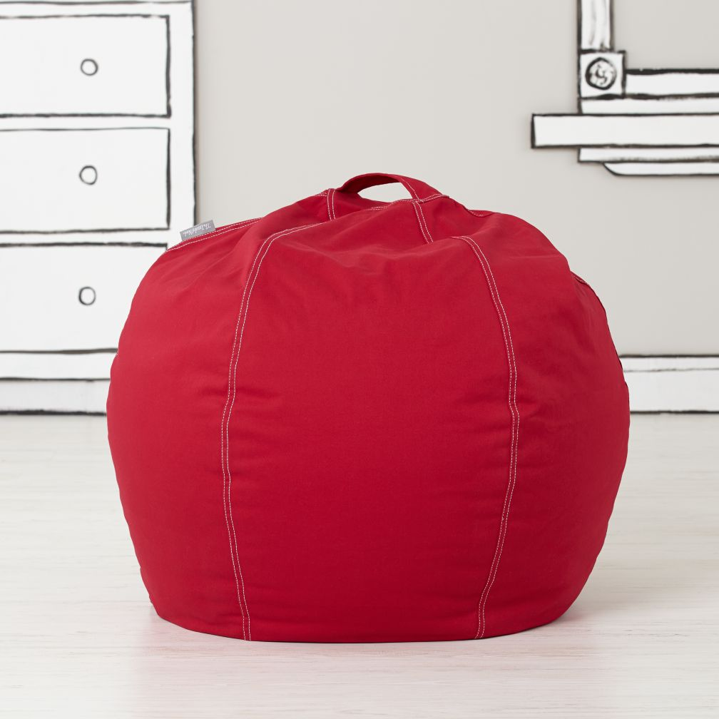 "30"" Bean Bag Chair Cover (New Red)"