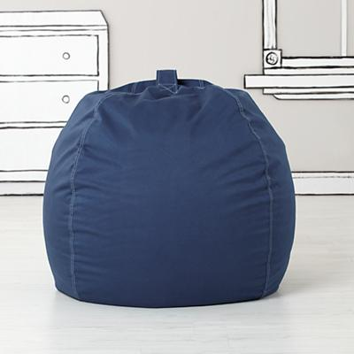 "40"" Bean Bag Chair Cover (Dk. Blue)"