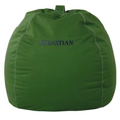 "40"" Personalized Bean Bag Chair Cover (Green)"
