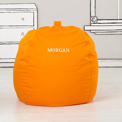 "40"" Ginormous Bean Bag Chair (Orange)"