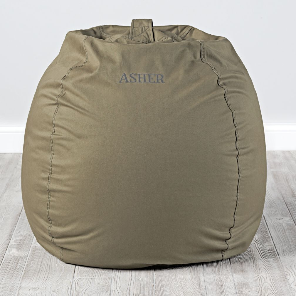 "40"" Ginormous Bean Bag Chair (Dk. Green)"