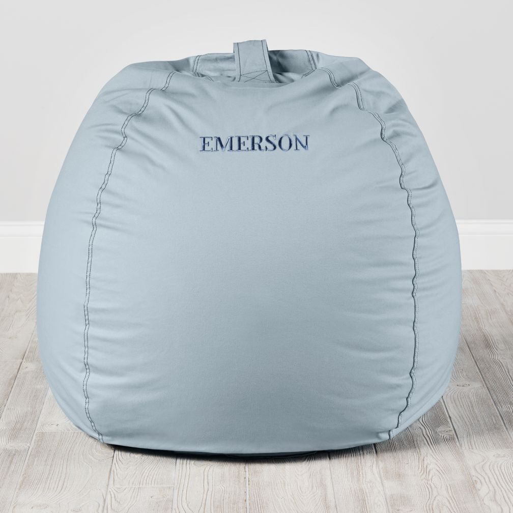 "40"" Ginormous Bean Bag Chair (Lt. Blue)"