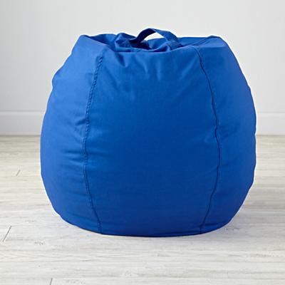 "30"" Cool Beans! Blue Bean Bag Chair Cover"