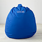 "40"" Personalized Ginormous Blue Bean Bag Chair(Includes Cover and Insert)"