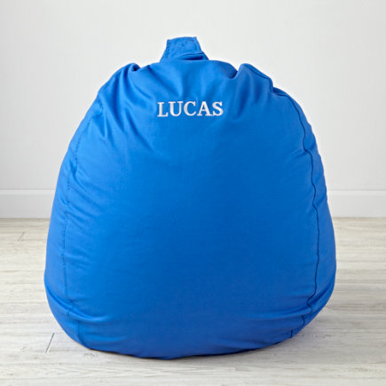 40 Blue Bean Bag Chair - 40 Personalized Ginormous Blue Bean Bag Chair(Includes Cover and Insert)