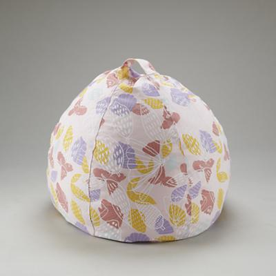 "30"" Strawberry Floral Bean Bag Chair Cover"