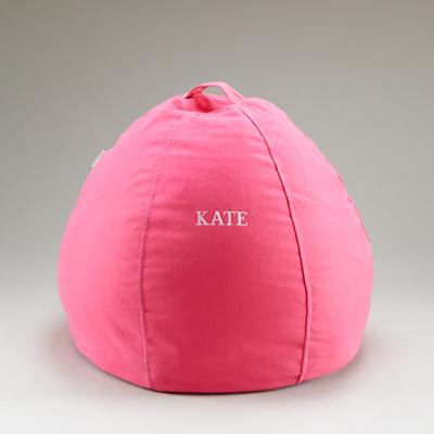 """30"""" Personalized Bean Bag (Pink)"""