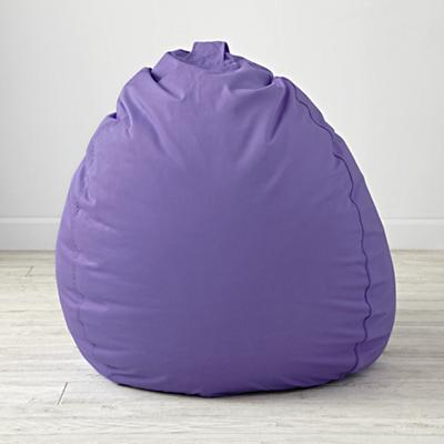 "40"" Ginormous Purple Bean Bag Chair Cover"