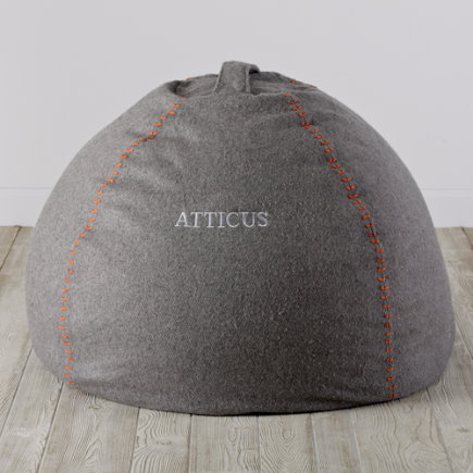 40 Personalized Heathered Sweatshirt Bean Bag Chair