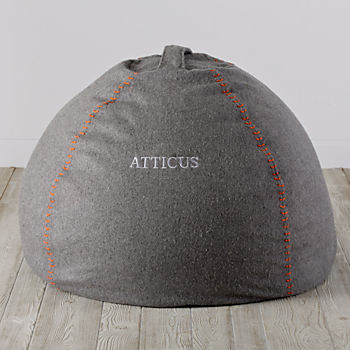 """Personalized 40"""" Heathered Sweatshirt Bean Bag Chair Cover"""